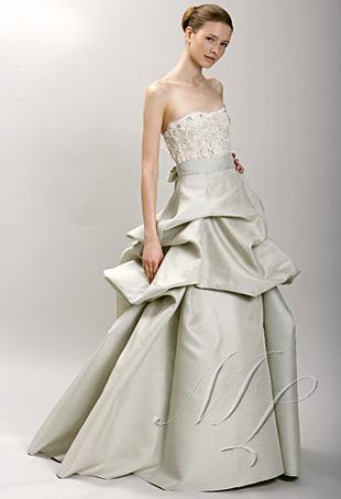 Robes de mariage monique lhuillier spring 2009 for Monique lhuillier robes de mariage