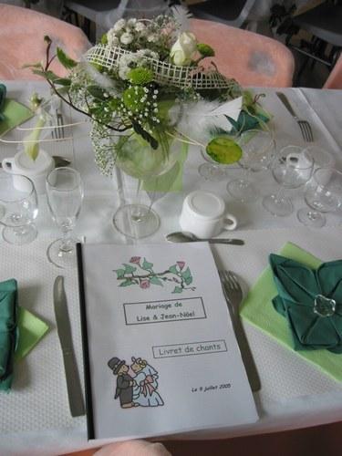D coration de salle et de table de mariage mariagetv 2 for Articles de decoration