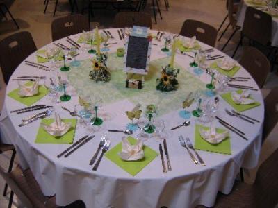 D coration de salle et de table de mariage mariagetv 2 for Article decoration mariage