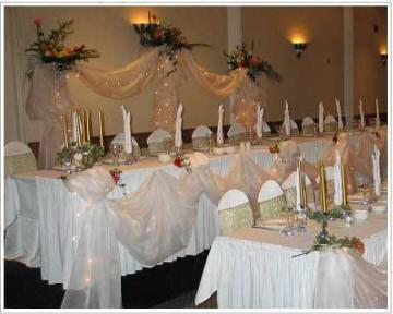 D coration de salle et de table de mariage mariagetv for Article decoration mariage