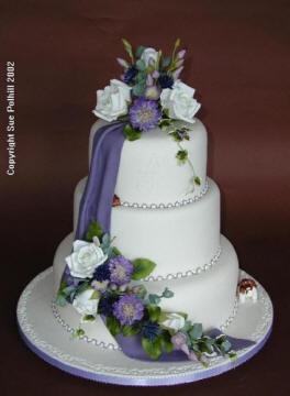 Gateau de mariage rectangulaire id es et d 39 inspiration - Presentoire gateau mariage ...