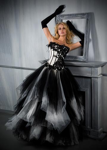 Robe mariee gothique
